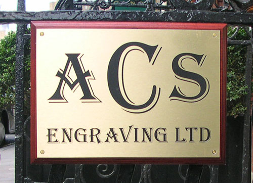 ACS Engraving in London, Contact Us